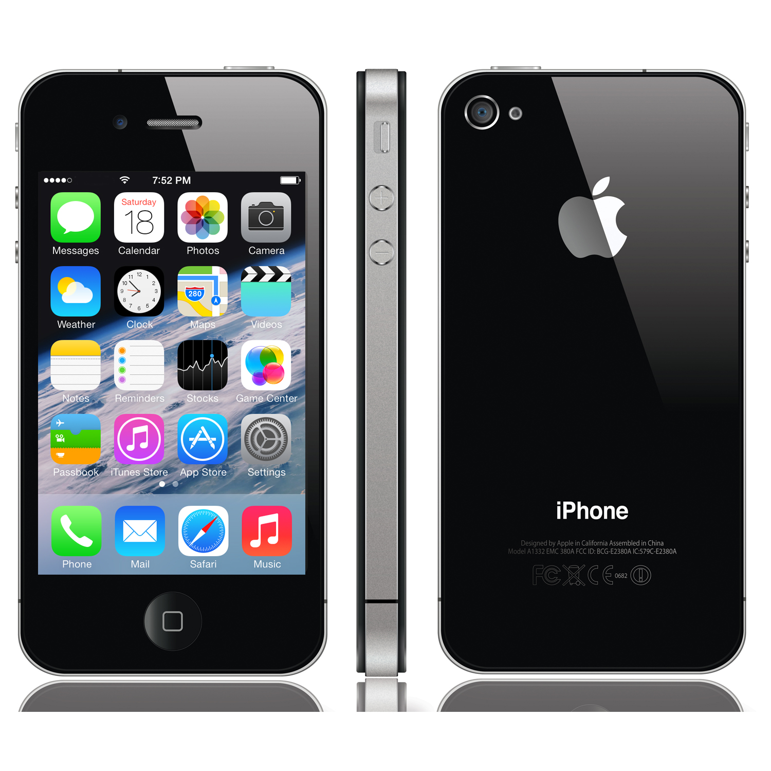 my iphone just went black new apple iphone 4s smartphone 8 gb 100 factory 17836
